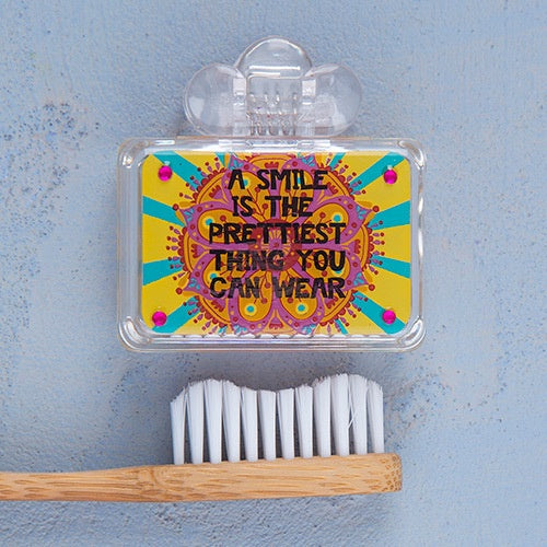 """Pretty Smile"" Toothbrush Cover"