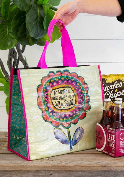 Do More Make Your Soul Shine Insulated Tote - Natural Life