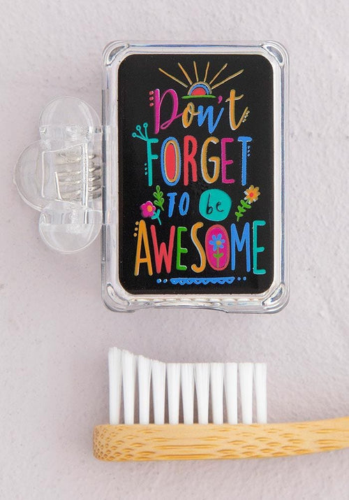 Be Awesome Toothbrush Cover - Natural Life