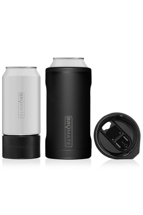 BruMate: Hopsulator Trio 3-in-1 | Matte Black (16oz/12oz Cans)