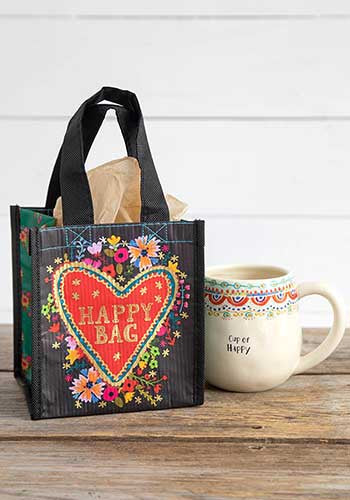 Floral Heart S Happy Bag - Natural Life