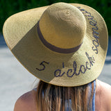 5 O'Clock Somewhere Sun Hat