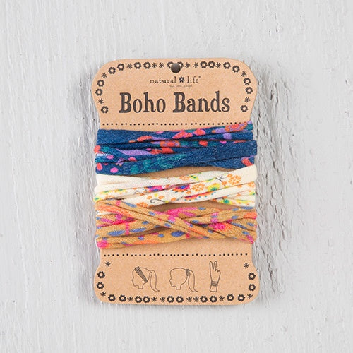 Navy, Cream, & Gold Boho Bands
