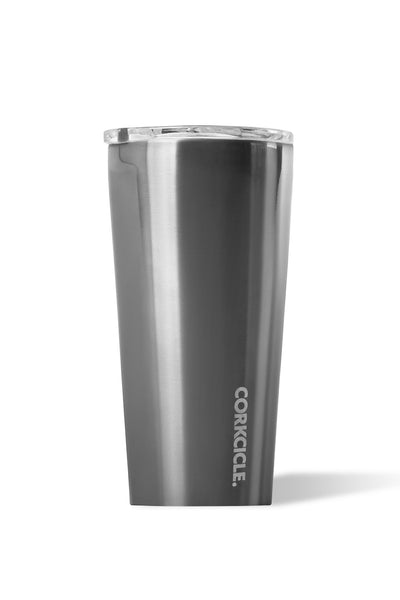 Corkcicle: 16oz Metallic Tumbler - Gunmetal