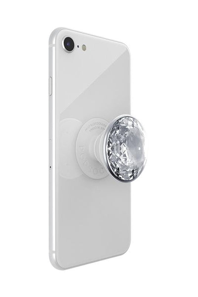 PopSockets Grip - Disco Crystal Silver