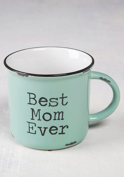Best Mom Ever Camp Mug - Natural Life
