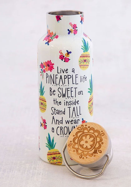 Pineapple Life Traveler Bottle - Natural Life