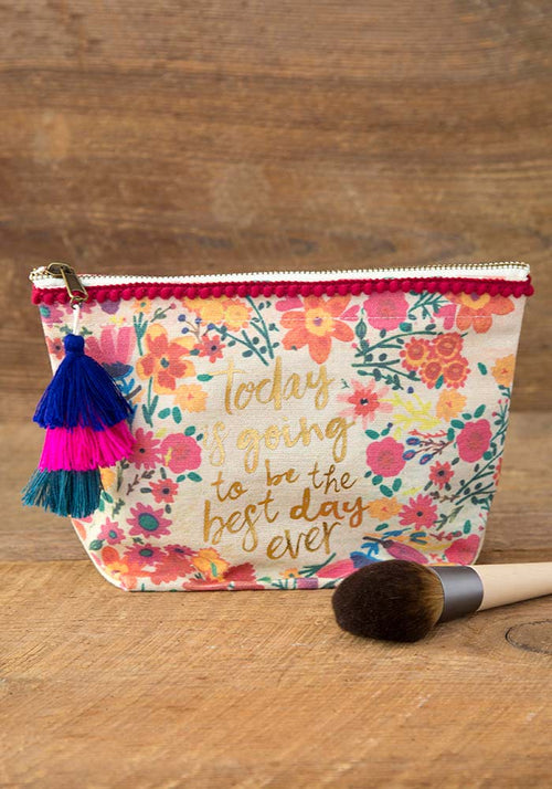 Best Day Ever Canvas Pouch