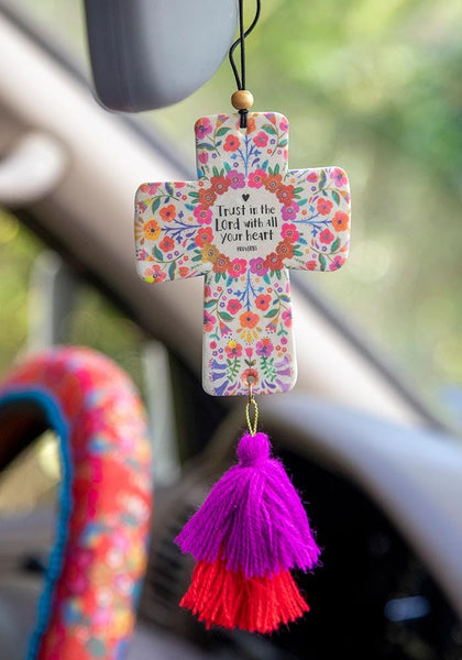 Trust In The Lord Air Freshener - Natural Life