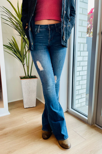 Articles of Society: Faith Flare Jeans - Indianola