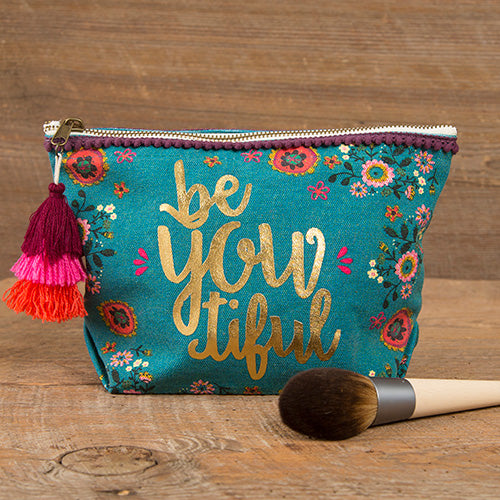 BeYOUtiful Canvas Pouch