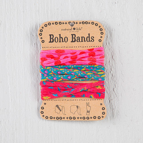 Natural Life Pink Polka Dot Boho Bands