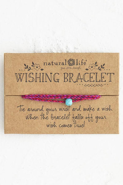 Berry Wishing Bracelet - Natural Life