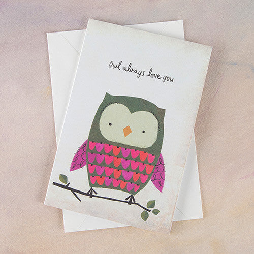 """Owl Always Love You"" Greeting Card"