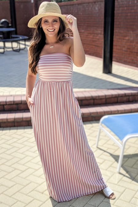 Springtime Stripes Top - Honey