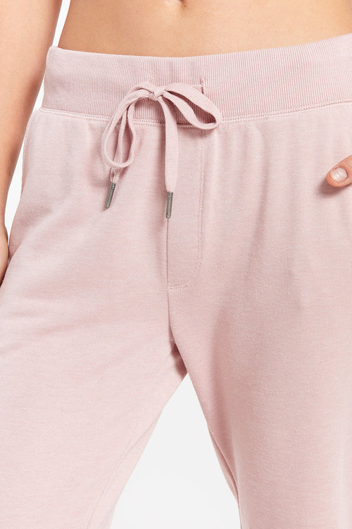 Z Supply: Cypress Loop Terry Jogger - Pink Blossom