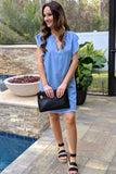 Denim & Fray Dress