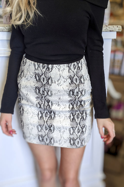 Desert Venom Skirt - Off White
