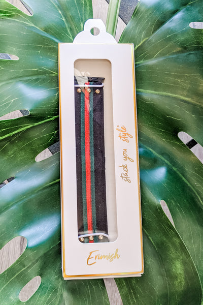 Erimish: Stretchy Collection Apple Watch Band - Milan