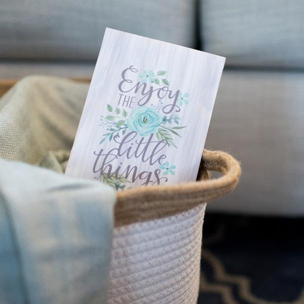 Fresh Scents: Scented Sachet - Enjoy the Little Things