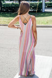 Follow the Rainbow Striped Maxi - Multi