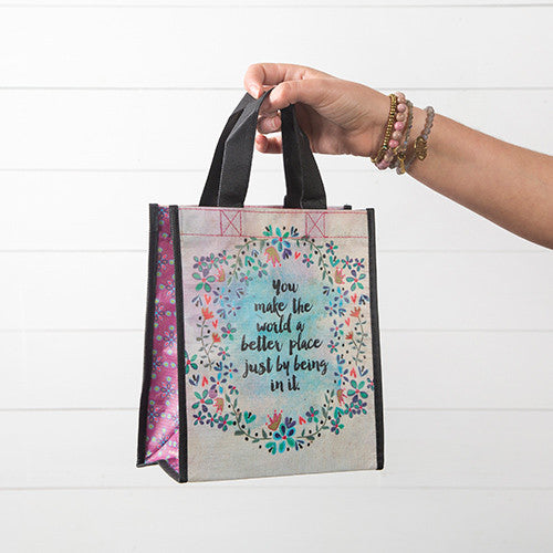 """You Make the World Better""  Medium Gift Bag"