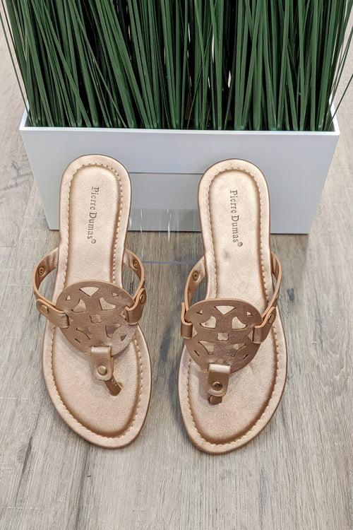 Genevieve Limited Sandals - Rose Gold