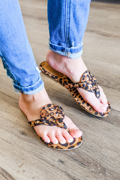 Genevieve Limited Sandals - Leopard