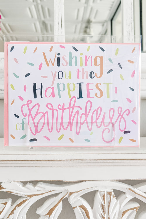 Greeting Cards | Happiest of Birthdays
