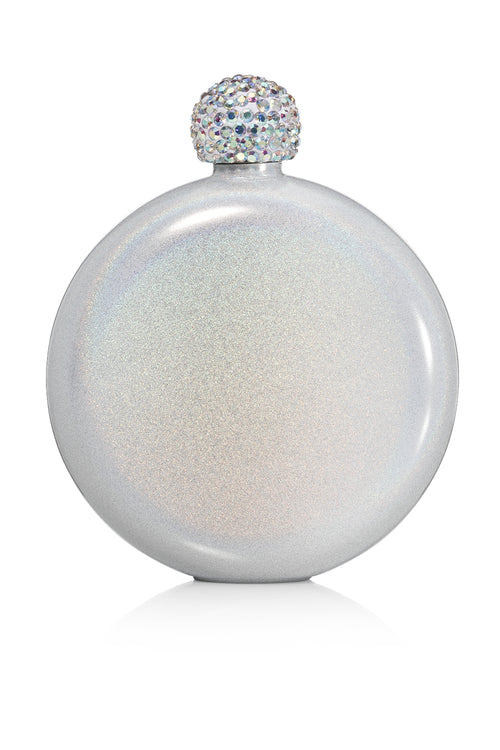 BruMate: Glitter Flask | Ice White