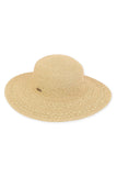 The Willow Paper Braid Floppy Hat - Natural