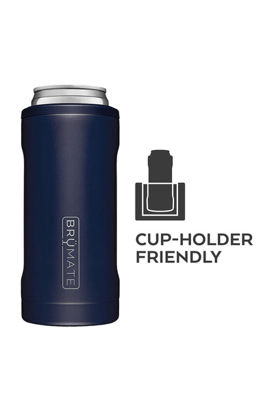 BruMate: Hopsulator Slim | Matte Navy (12oz Slim Cans)