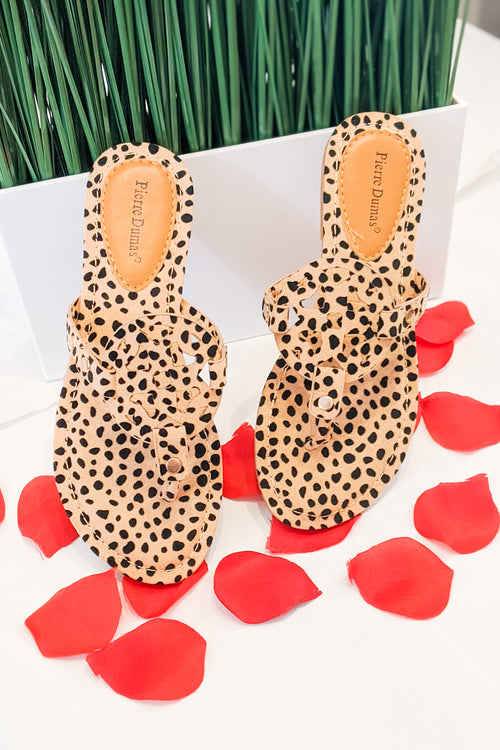 Genevieve Limited Sandals - Cheetah