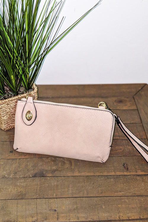 Jenny Cross Body Bag - Light Pink