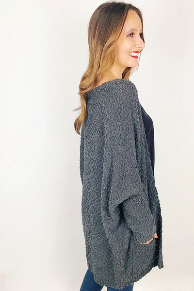 Keep it Cozy Sweater - Charcoal