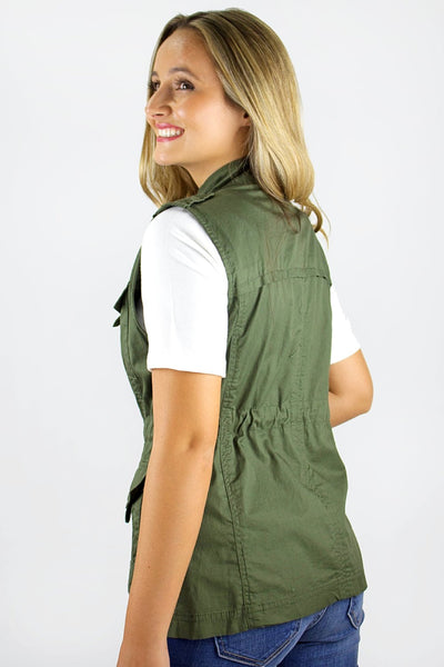 Looking for Adventure Vest - Olive