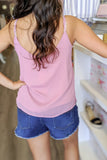 Loving Words Cami Top - Mauve
