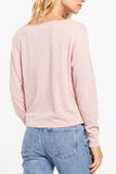Z Supply: Naiser Slub Top - Pink Blossom