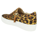 Not Rated Tim Leopard Platform Sneakers