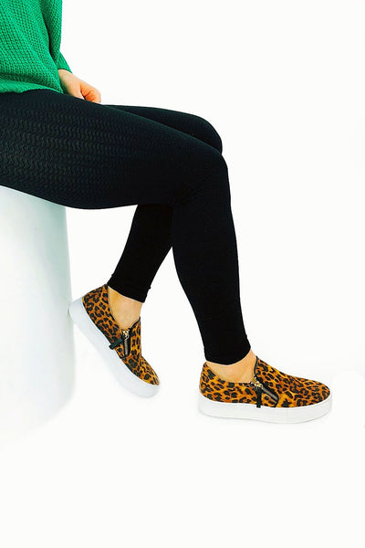 Not Rated: Tim Sneakers - Leopard