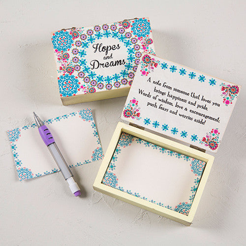 Hopes & Dreams Wooden Keepsake Box