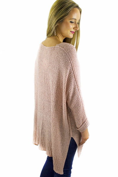 Sandy Nights Cardigan - Blush