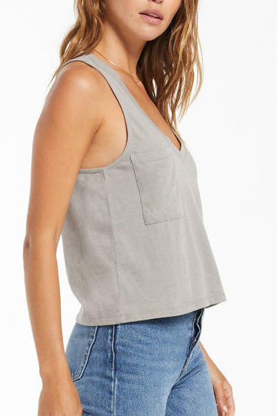Z Supply: Skimmer Pocket Tank - Dusty Sage
