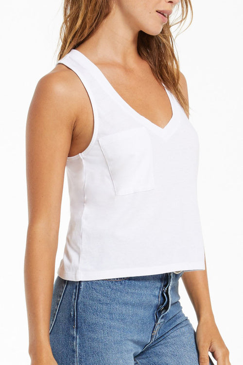 Z Supply: Skimmer Pocket Tank - White