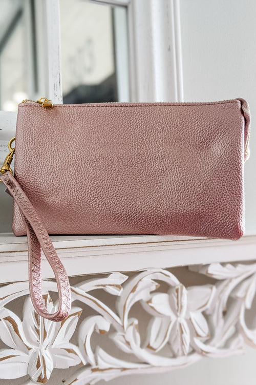 Sophie Cross Body Bag - Golden Pink