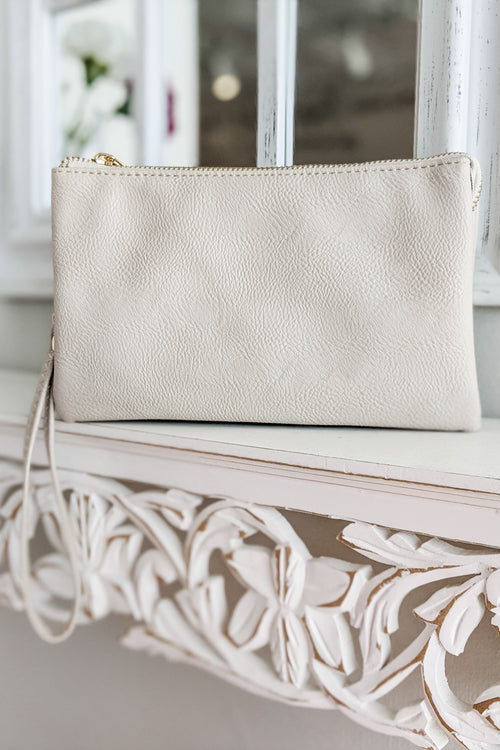 Sophie Cross Body Bag - Light Beige