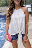 Start the Trend Sleeveless Top - Off White