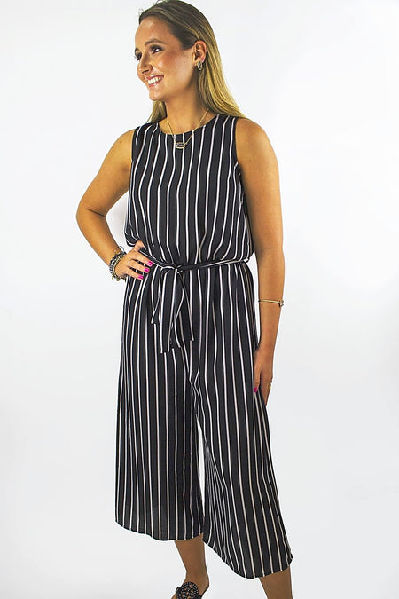 Nights at the Beach Strapless Jumpsuit