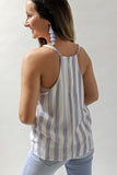 Summertime Stripes Top - Blue