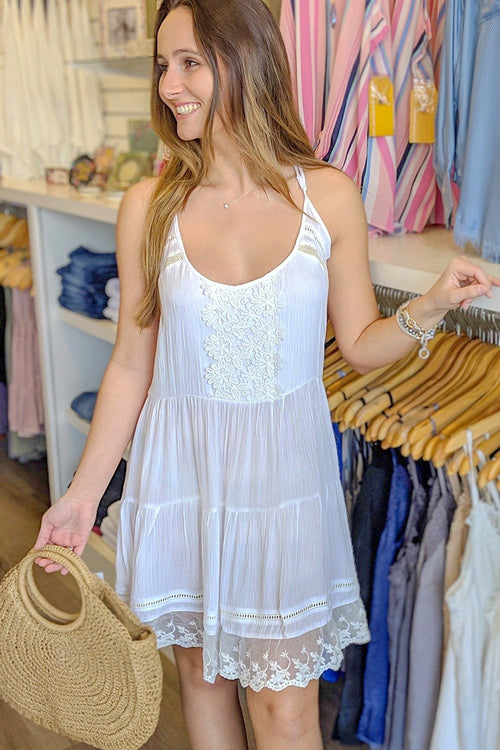 Sweet Innocence Dress - Off White